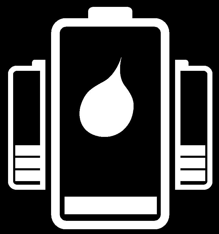 Vad innehåller ett batteri?