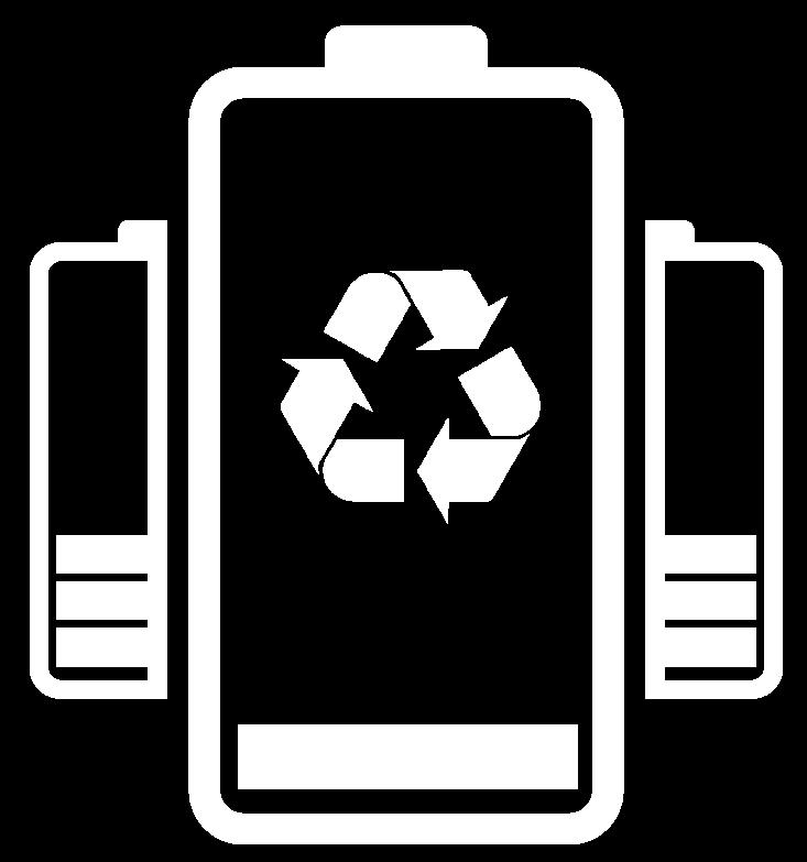 De flesta batterier går att återvinna